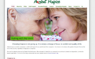 Ardent Hospice | Website Design